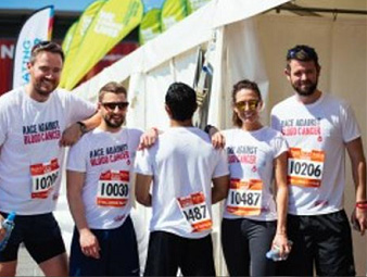 Recruiters to take part in London Triathlon